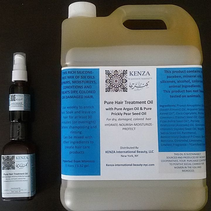 Pure Hair Treatment Oil Wholesale 5 liters / 1.32 gal