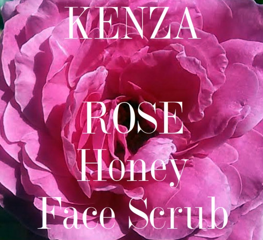 Rose Argan Honey Face Scrub 35oz