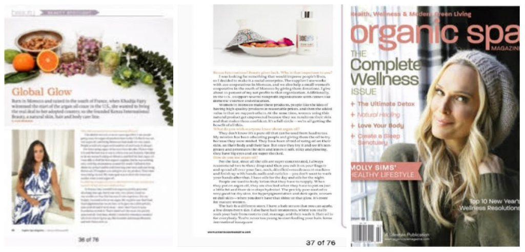 Global Glow - Organic SPA Magazine