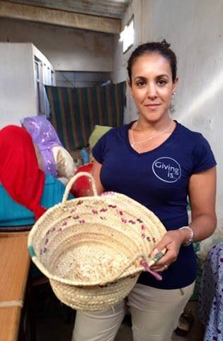 Khadija Fajry Social Mission at Cooperative Tirizite Morocco
