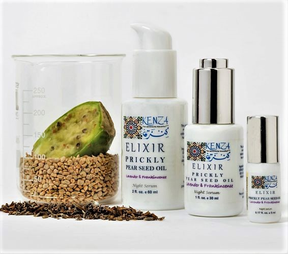 Prickly Pear Seed Oil Frankincense ELIXIR Facial Oil
