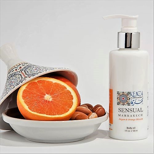 Argan Neroli Amber Sensual Marrakech Massage & Body Oil