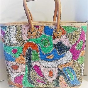 womens bag with sequins