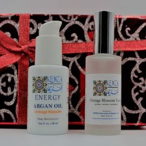 Argan Neroli ENERGY with Orange Blossom Toner Gift Set