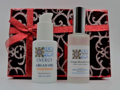 Argan Neroli ENERGY with Orange Blossom Toner Gift Set