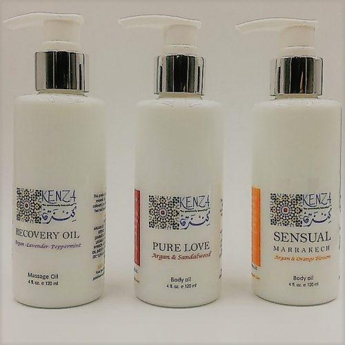 Argan Body Oils & Massage oILS
