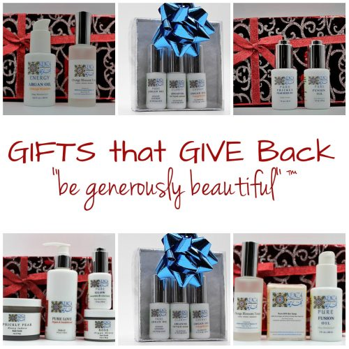 Holiday Gifts that Give Back