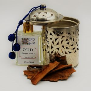Oud Aroma Home Fragrance Oil & Moroccan Diffuser