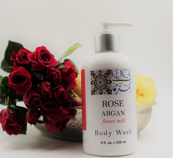 Rose Argan Flower Milk Body Wash