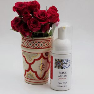 Rose Argan Flower Milk Face Wash