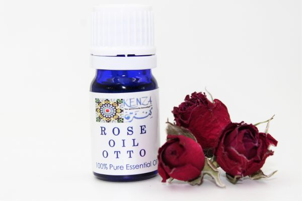 KENZA Pure Rose Oil Otto 0.17 oz / 5ml