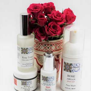 KENZA Rose Beauty Skincare Set