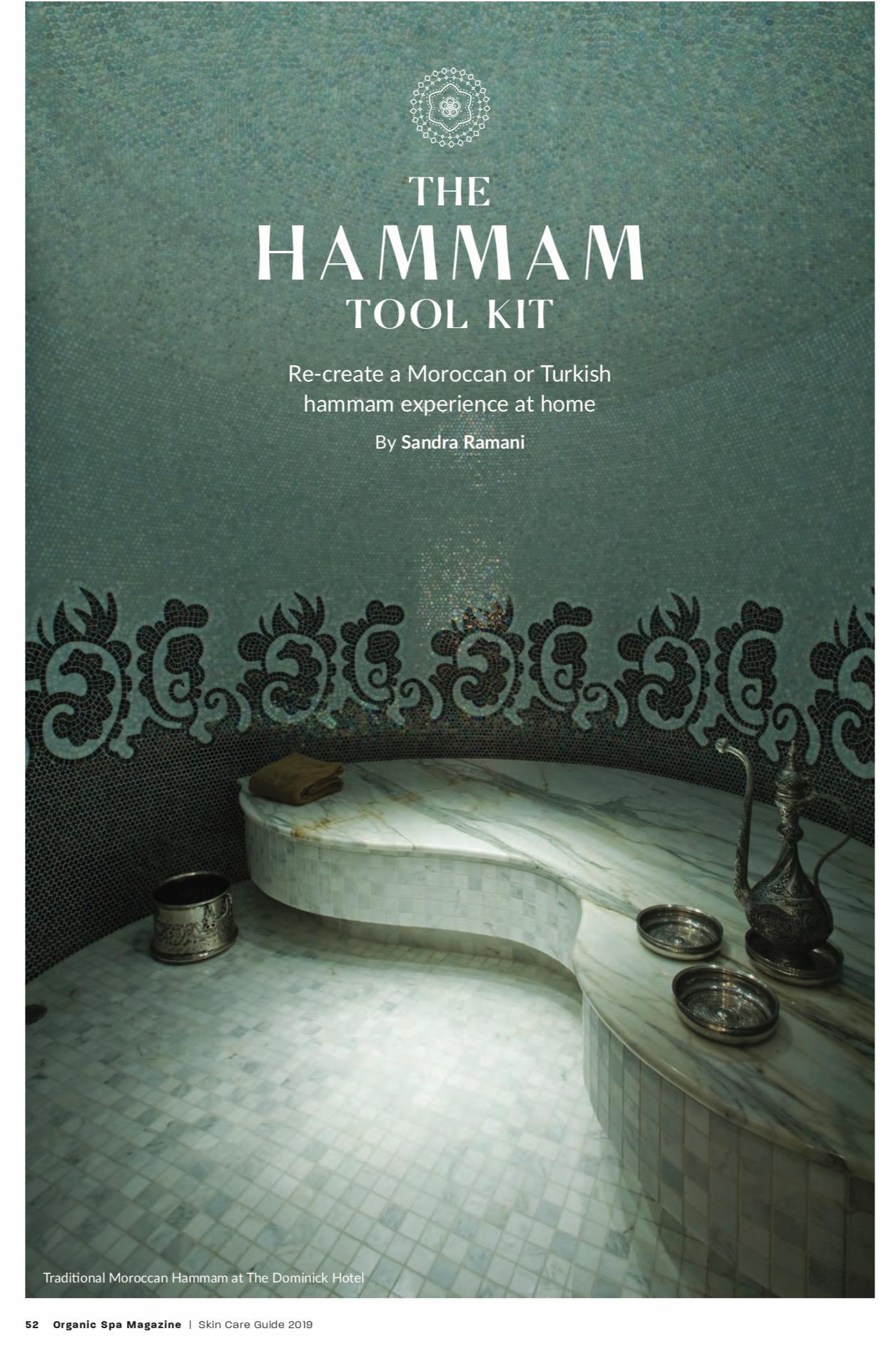 Hammam Tool Kit - Organic SPA Magazine