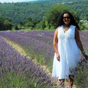 Khadija Fajry Lavandin in Provence