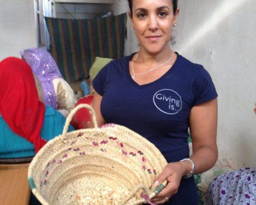 Khadija Fajry Social Mission at Cooperative Tirizite
