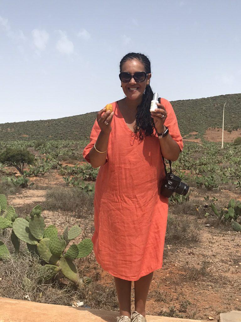 Prickly Pear Seed Oil Khadija Fajry KENZA International Beauty in Morocco