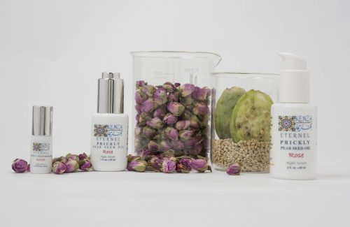 Prickly Pear Seed Oil Rose Eternel Night Serum Collection