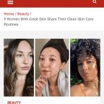 9 Women With Great Skin Share Their Clean Skin-Care Routines