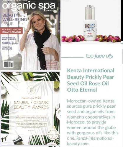 Natural Organic Beauty Awards Organic SPA Magazine