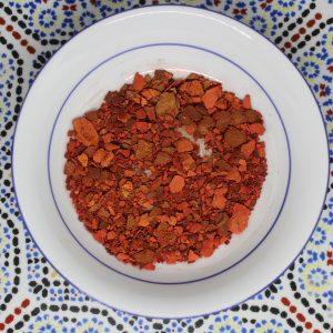 Aker Fassi Red Poppy Flower Powder - Plant-Based Vegan Colorant