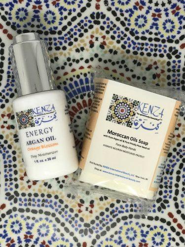 KENZA Argan Oil ENERGY & Moroccan Oils Soap