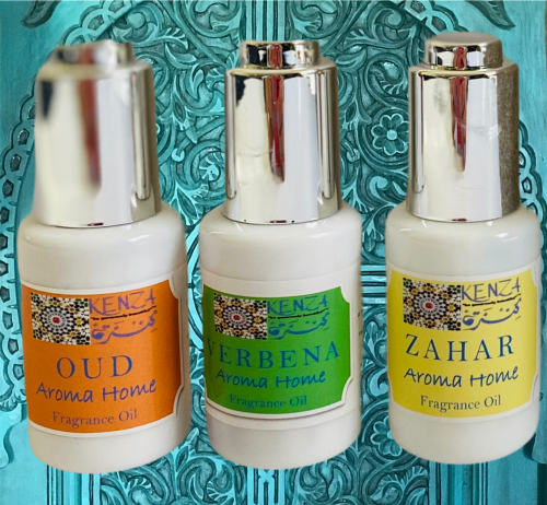 KENZA Aroma Home Fragrance Oils Collection