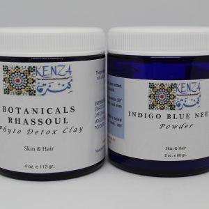 Botanical Phyto Detox Clay and Indigo Blue Neela Powder